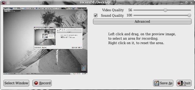 Ubuntu使用RecordMyDesktop录制屏幕