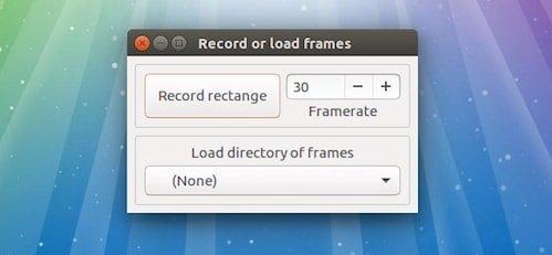Ubuntu使用Gifine创建GIF动画