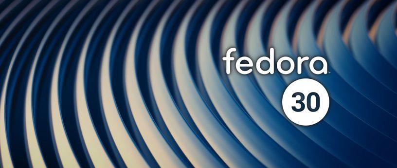 fedora30正式版发布