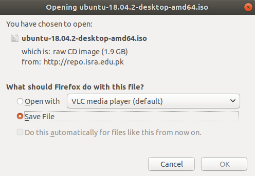下载Ubuntu 18.04 LTS ISO文件