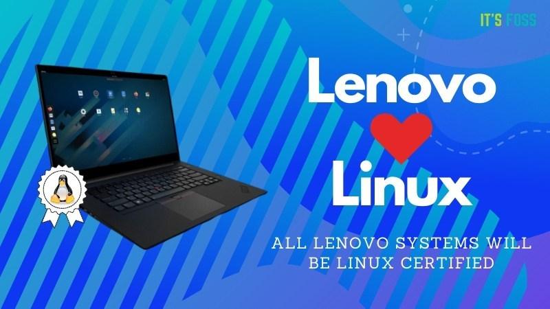 联想ThinkPad 和 ThinkStation通过Linux兼容认证