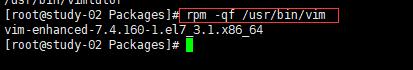 查找文件是源于哪个RPM包